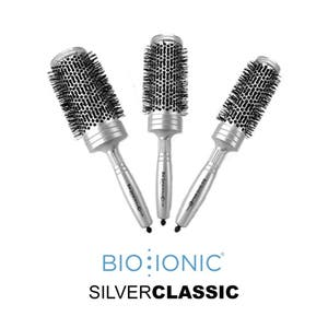Bio Ionic Silver Classic Series Brushes
