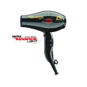 Parlux ADVANCE Light Hair Dryer Ionic & Ceramic - Black
