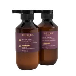 Theorie Marula & Argan Smoothing Shampoo and Conditioner Travel Duo 90ml