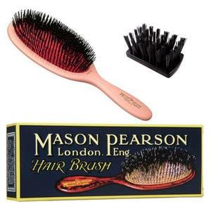 Mason Pearson Pure Boar Bristle - Large Extra B1 Pink
