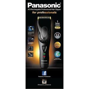 Panasonic ER-GP81 -k  AC/Rechargeable Professional Hair Clipper