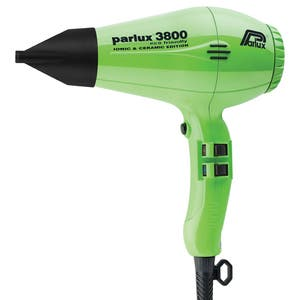 Parlux 3800 Ceramic and Ionic Dryer 2100W - Green