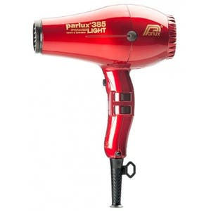 Parlux 385 Red Hair Dryer Power light Ceramic & Ionic 2150w