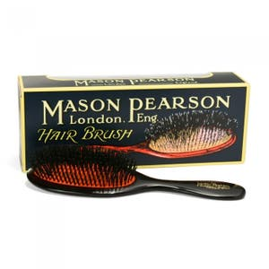 Mason Pearson Pure Boar Bristle - Pocket B4 Dark Ruby/Black