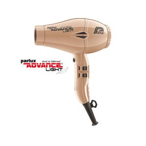 Parlux ADVANCE Light Hair Dryer Ionic & Ceramic - Gold