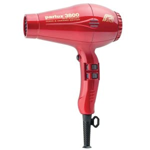 Parlux 3800 Ceramic and Ionic Dryer 2100W - Red