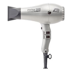 Parlux 385 SIlver Hair Dryer Power light Ceramic & Ionic 2150