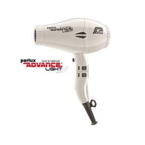 Parlux ADVANCE Light Hair Dryer Ionic & Ceramic - White
